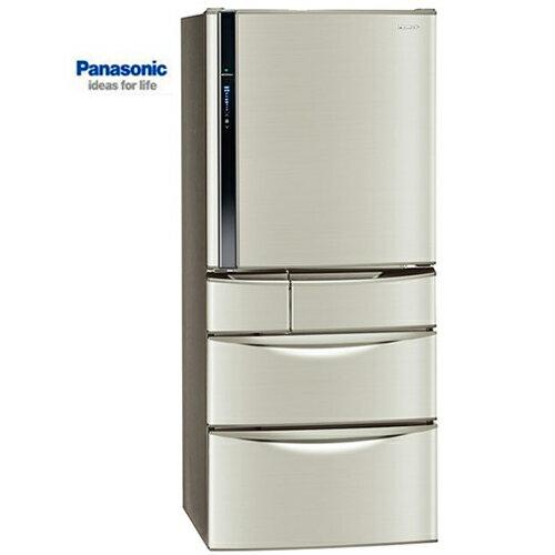 Panasonic 國際 冰箱 NR-E567MV-L 變頻五門 香檳金