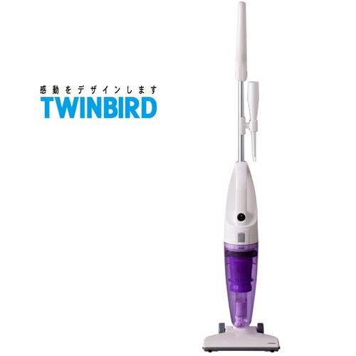 TWINBIRD 雙鳥 TC-5121TW 紫 直立/手持式兩用吸塵器