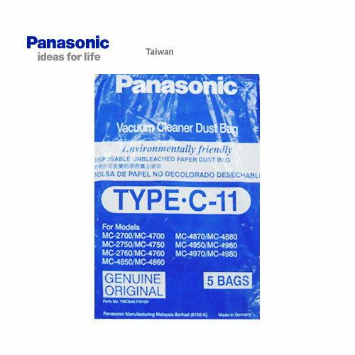 <br/><br/>  Panasonic 國際 集塵紙袋 TYPE-C11 吸塵器專用集塵紙袋 5入<br/><br/>