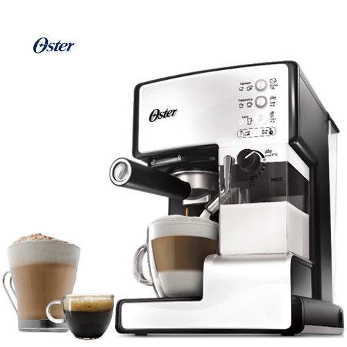 OSTER 美國 奶泡大師 義式咖啡機 BVSTEM6601 雪白 買就送膳魔師悶燒罐