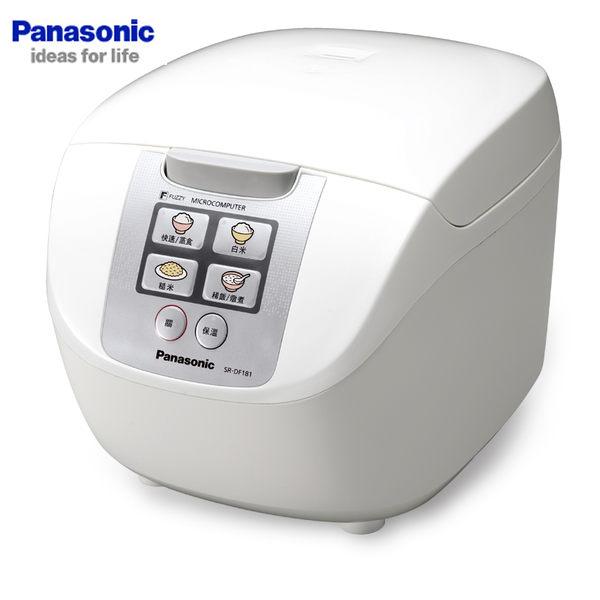 Panasonic 國際 SR-DF181 電子鍋 10人份 附有豪華蒸籠