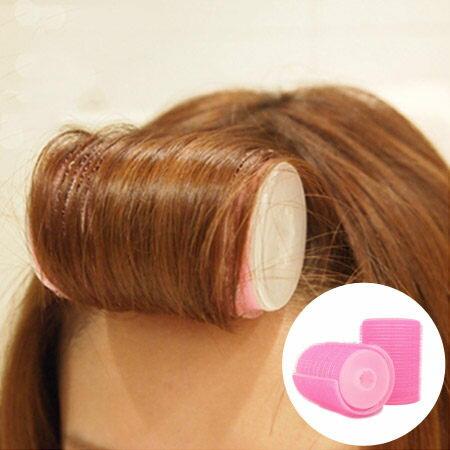 最新升級雙層瀏海自黏髮捲(2入一組) 梨花捲 內扣捲 不傷髮捲髮神器 美髮小物【N200652】