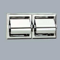 HCG附蓋雙座衛生紙架/BF3810