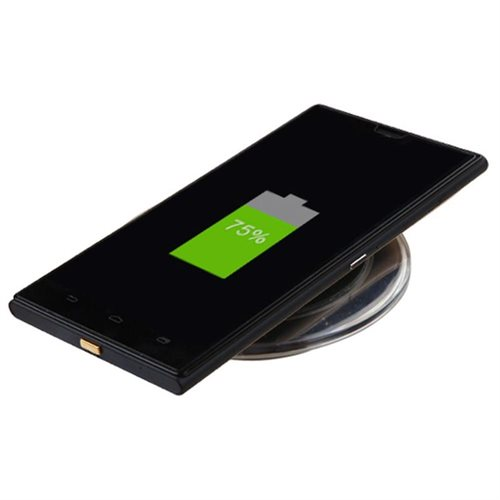 Insten Ultra-Thin QI Wireless Charging Receiver for Micro USB Universal (Narrow-interface Down) 1