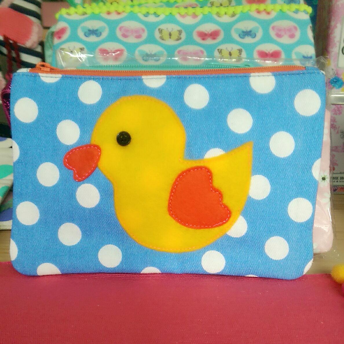 Ginger手作可愛動物造型收納包 眼鏡袋 筆袋 零錢包