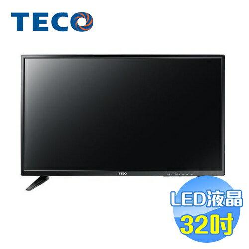 東元 TECO 32吋LED液晶電視 TL32K1TRE