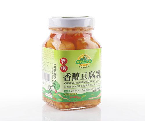 味榮 展康 有機香醇豆腐乳 340g 全素 非基因改造黃豆 質地綿密 傳統日曬