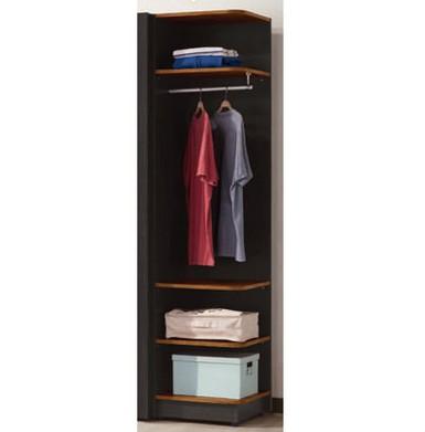 【九日木作】貝軒1.5尺轉角置物衣櫃(E)