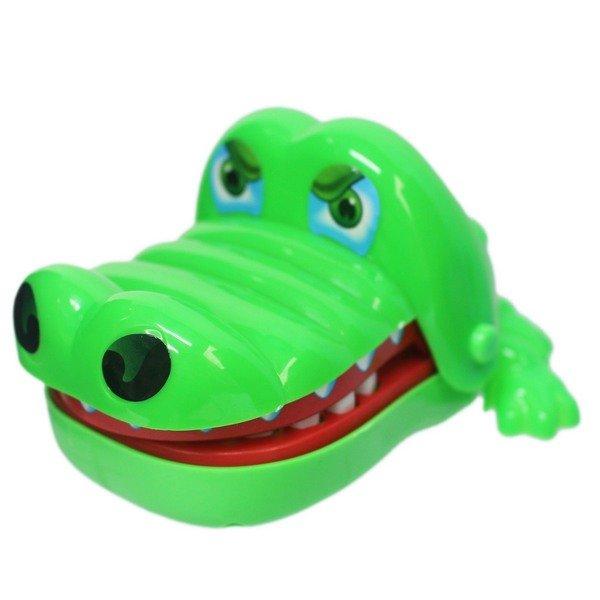 鱷魚拔牙齒 828 瘋狂鱷魚咬咬樂(大) / 一個入(促90) 咬人鱷魚 整人玩具 桌遊-創F-T828 1