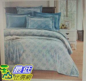[COSCO代購 如果沒搶到鄭重道歉] Caliphil 雙人色織緹花床包被套四件組 W114120-B