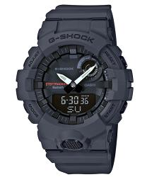 CASIO 卡西歐 G SHOCK APP健康管理藍芽傳輸雙顯計時錶 GBA-800-8A 54.1mm