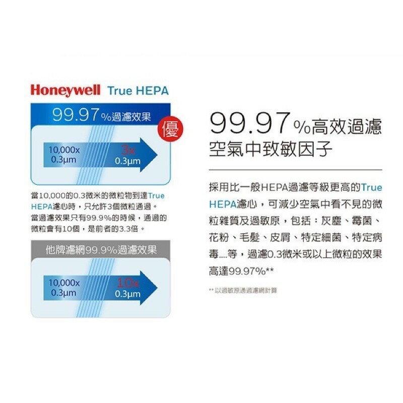 Honeywell True HEPA 抗敏 空氣清淨機HPA-100APTW
