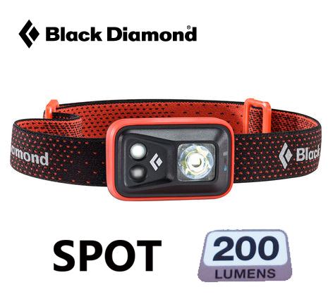 Black Diamond 頭燈 SPOT 200流明 登山 露營 夜跑