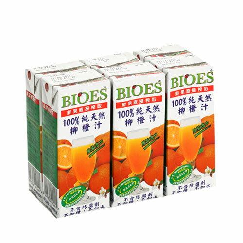 囍瑞100%柳橙汁200ML~6~愛買~