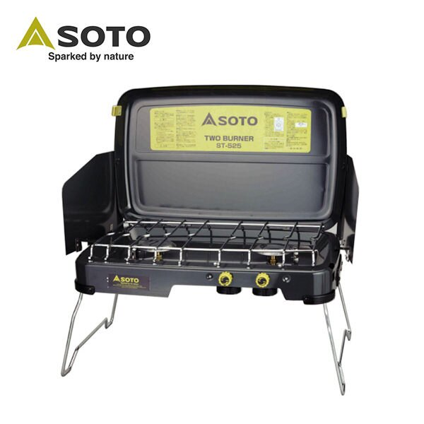 SOTO / 雙口爐 / 瓦斯爐 / SOTO 戶外瓦斯雙口爐 ST-525 - 限時優惠好康折扣