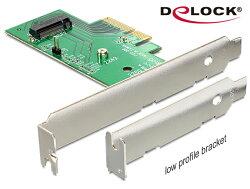 [富廉網] Delock M.2 NGFF SSD的PCI express擴充卡 - 89370