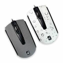 【迪特軍3C】aibo 鈞嵐 S805 MINI 炫麗光學滑鼠 USB隨插即用 (賽車紋/水滴紋)