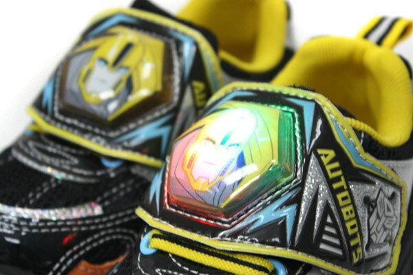 變形金鋼 TRANSFORMERS  運動鞋 球鞋 魔鬼氈 舒適 黃色 黑色 中童 童鞋 TF5169 no698 3