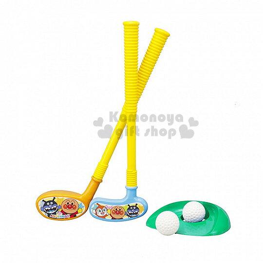 〔小禮堂嬰幼館〕麵包超人 高爾夫球組 玩具《藍黃.朋友.星星》健康運動性質玩具