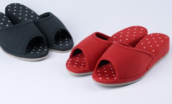 rubber anne:小水珠室內拖鞋