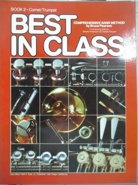 【書寶二手書T2/音樂_QIN】Best in Class_book2.Cornet/ Trumpet_Bruce Pe