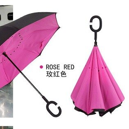 德國創意三代反向傘雙層免持式反折傘汽車長柄晴雨傘摺疊反開收傘七天預購+現貨