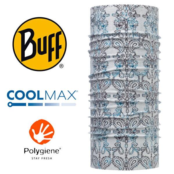 【Buff西班牙】魔術頭巾系列COOLMAX抗UV頭巾-禪風藍雲/BF117028
