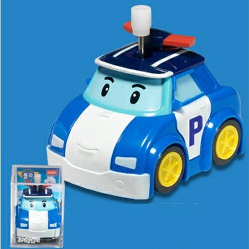 【POLI波力】波力轉彎發條車