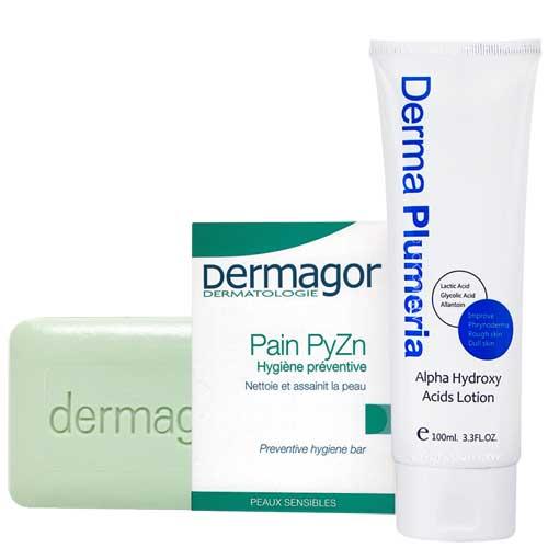 <br/><br/>  DERMAGOR朵瑪 果酸身體調理肌膚組<br/><br/>
