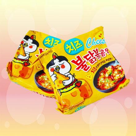 [敵富朗超市]三養辣炒起司雞肉鐵板麵(140gx5入) 1