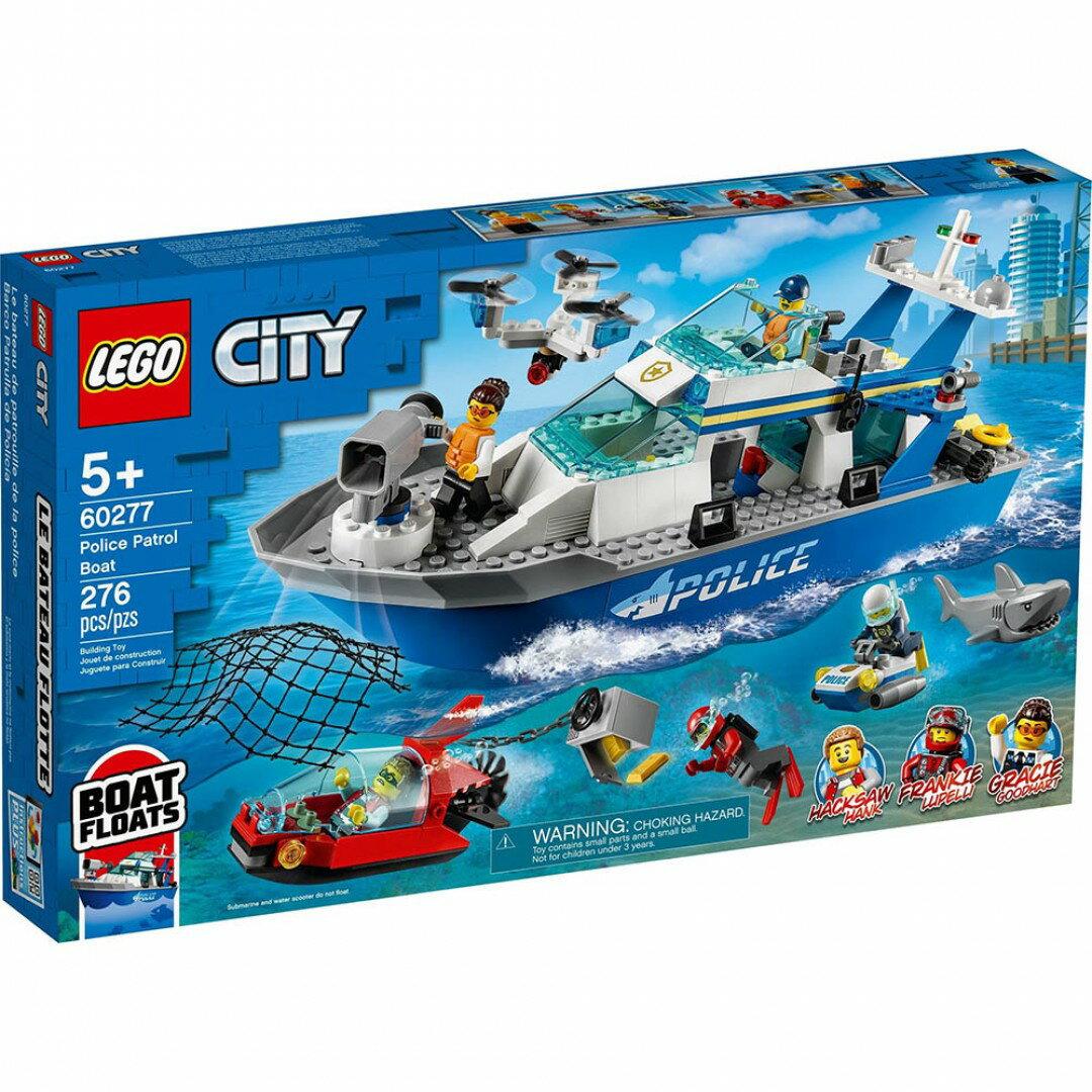 樂高LEGO 60277 City Police 城市系列 警用巡邏艇