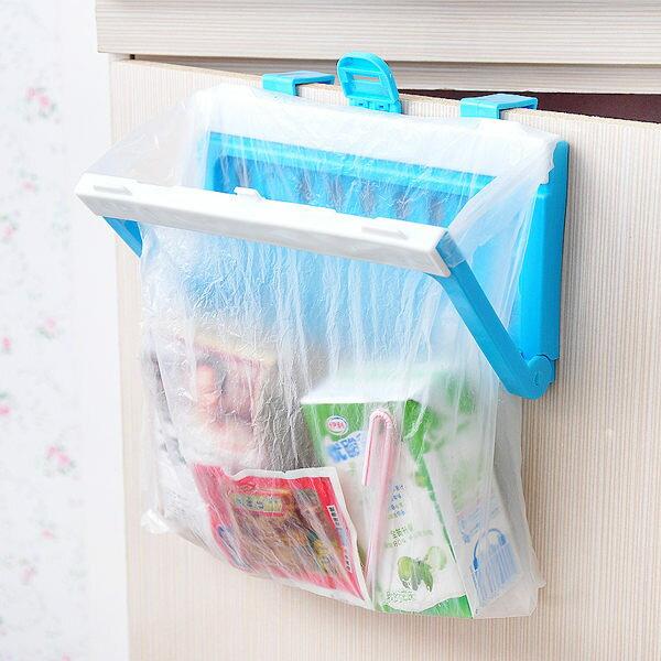 多功能摺疊掛式 垃圾袋收納架