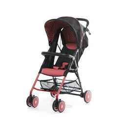 【淘氣寶寶】美國 ZOE T11 Urban 手推車(紅色)(附坐墊+防塵套+扶手)【總代理公司貨】