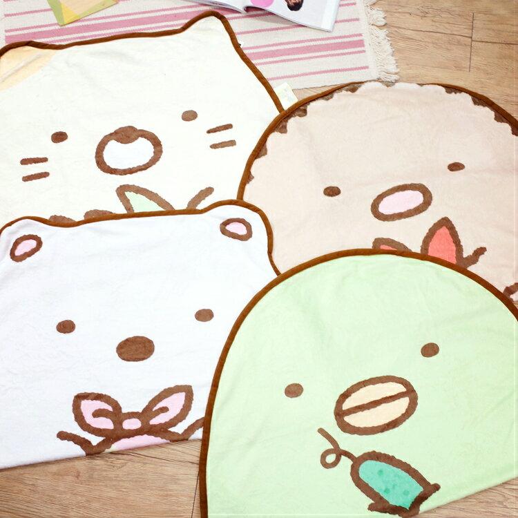 PGS7 日本卡通系列商品 - 角落 公仔 造型 毛毯 造型毯 毯子 角落小夥伴 角落生物【SFK7162】