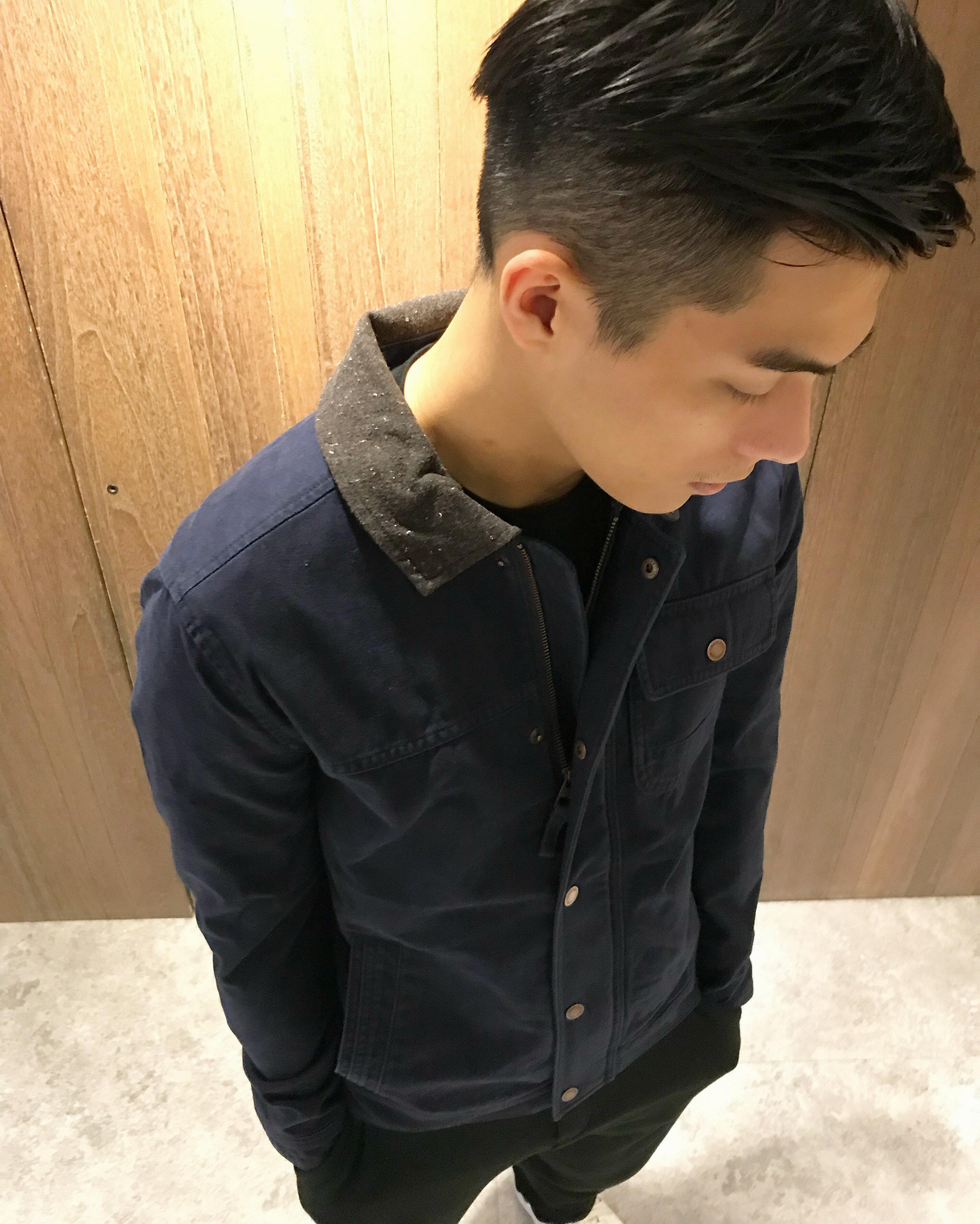 美國百分百【全新真品】Timberland 長袖 丹寧 牛仔 外套 休閒 男款 口袋 上衣 深藍色 S號 J617