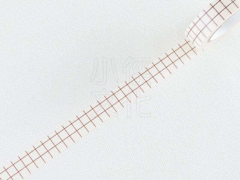 *小徑文化*日本進口 倉敷意匠計畫室 方眼紙膠帶系列 - 12mm 栗色,單捲 ( 45019-13 )