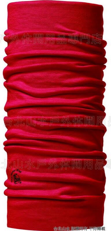 路跑/馬拉松/健行/嘉明湖/玉山/滑雪 [ Buff ] 101014 WOOL BUFF 西班牙 素色美麗諾羊毛萬用魔術頭巾 滾滾紅塵