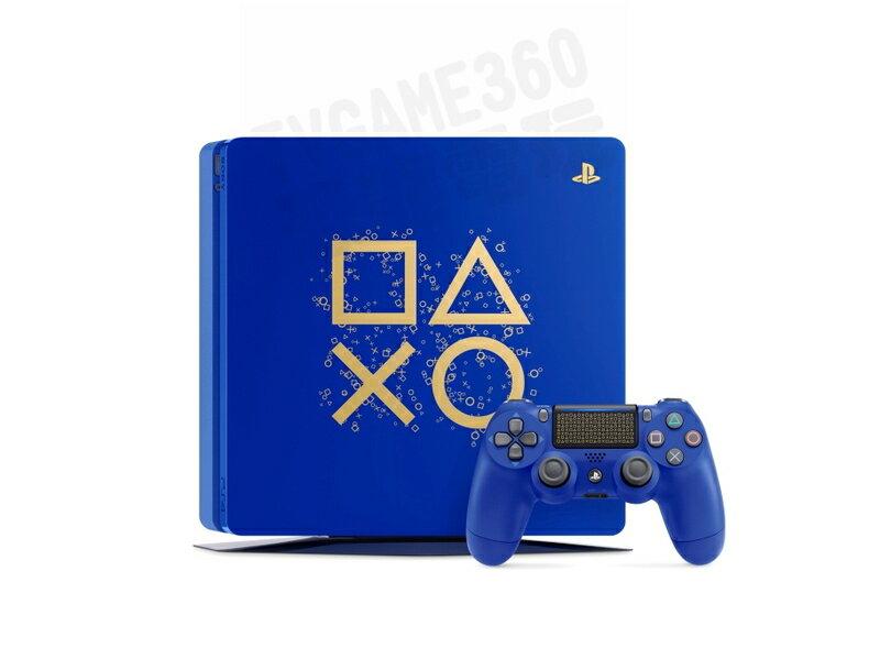 SONY PS4 SLIM DAYS OF PLAY LIMITED EDITION 限定版主機 CHU-2117 藍色
