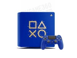 SONY PS4 SLIM DAYS OF PLAY LIMITED EDITION 限定版主機 CHU-2117 藍色