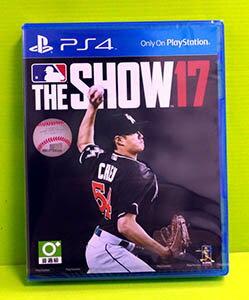 [現金價] PS4 美國職棒大聯盟 17 MLB The Show 17 亞版英文版