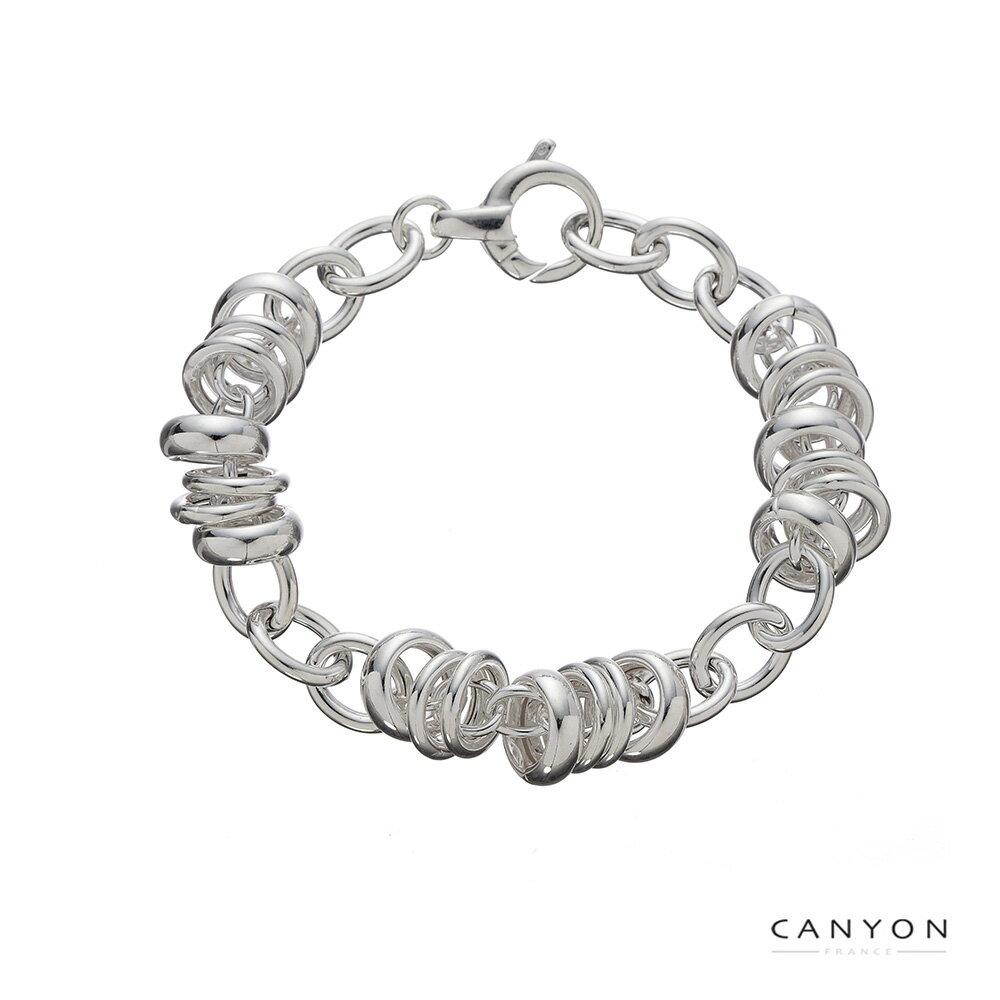 【CANYON】數圈圈銀手鍊
