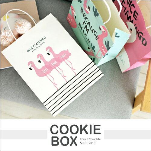 Nice 紅鶴 禮品袋 火鶴 購物袋 隨機出貨 紙袋 手提袋 送禮 包裝 精緻 instagram 拍照 小物 *餅乾盒子*