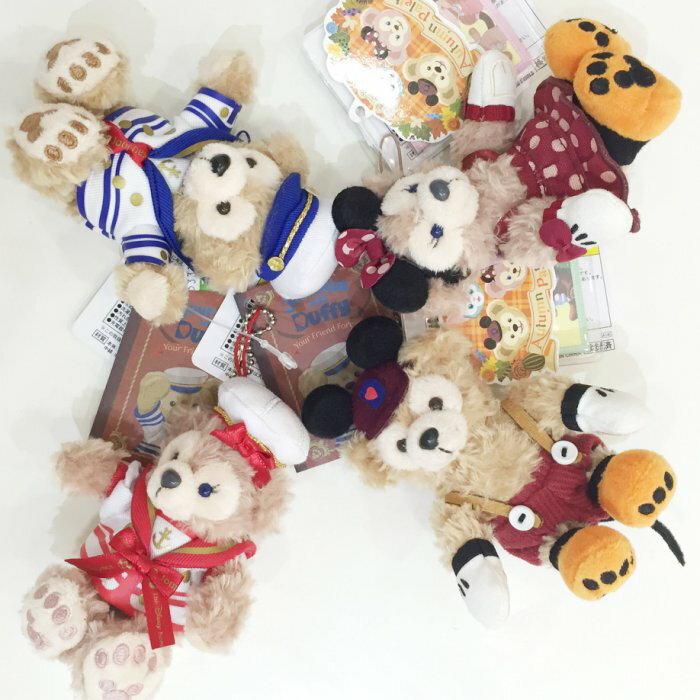 Duffy 達菲熊 坐姿 吊飾 日本海洋迪士尼 水手服 萬聖節 米奇米妮 十周年 配件 JustGirl