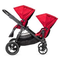 美國【Baby Jogger】City Select 四輪嬰兒推車 (黑管紅) 2