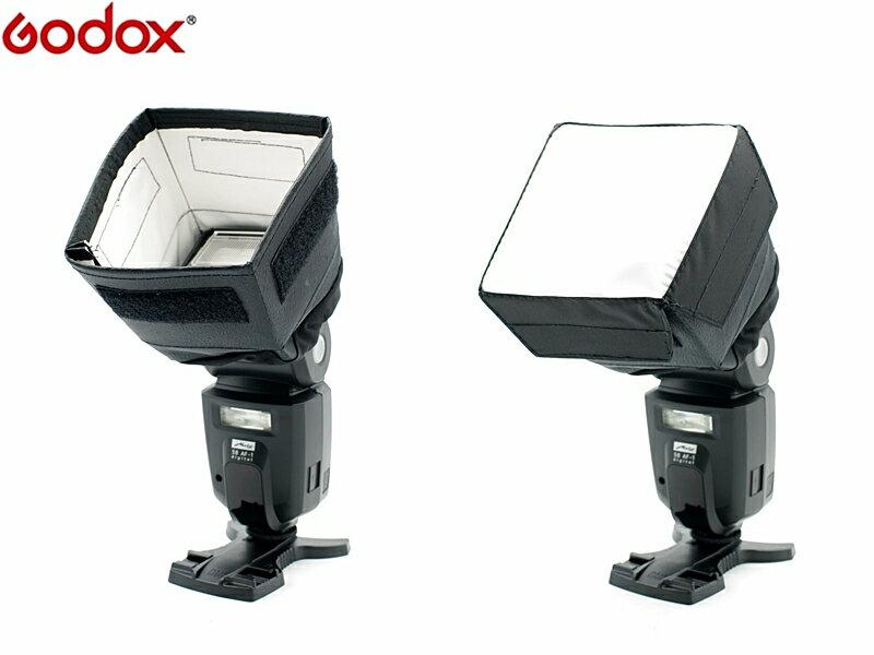 我愛買#Godox神牛SB1010機頂閃光燈柔光罩/束光罩切換款(開年公司貨)可直打跳燈,適婚禮商業攝影外閃柔光盒箱,適Nikon尼康SB-910 SB-900 SB-800 SB-700外閃柔光罩C..
