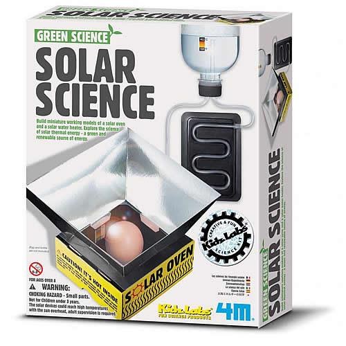 【4M 創意 DIY】Green Science-Solar Science 太陽能發電機