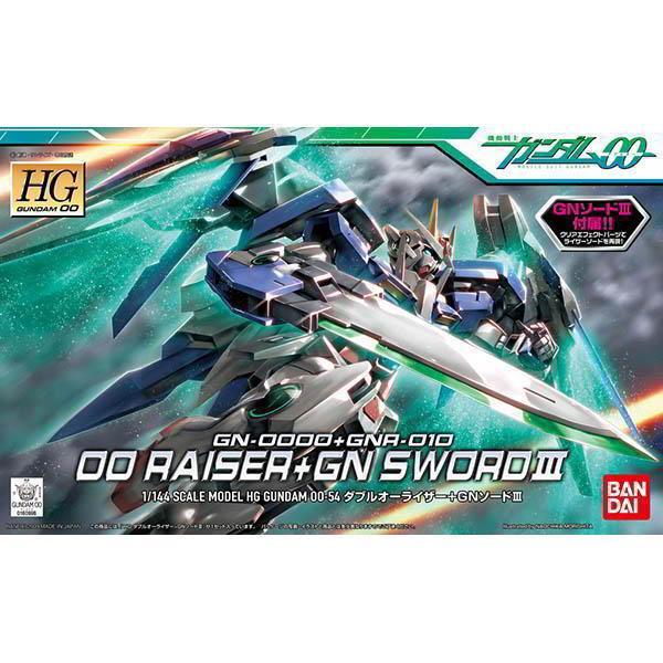 ☆勳寶玩具舖【鋼彈現貨】鋼彈OO HG 00 1/144 #54 00 RAISER 強化模組 + GN SWORD III