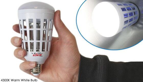 2-in-1 Mosquito Killing LED Light Bulb 2