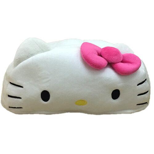 【真愛日本】17031300001 立體頭型面紙套-KT大臉 三麗鷗 Hello Kitty 凱蒂貓 面紙套 面紙盒 日用品