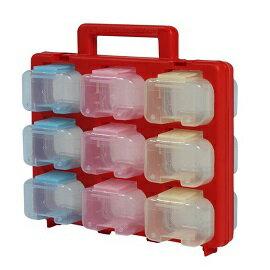 【佑齊企業 iCmore】PS-318 18格分類 可拆式手提零件收納盒 工具箱 零件箱(含稅)